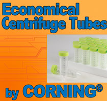 Economical Centrifuge Tubes - Corning