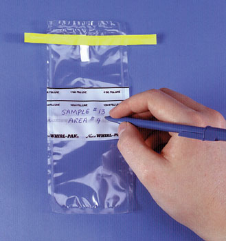 STANDARD BAGS 2.5X5 IN. W/WRITE-ON STRIP 1 OZ