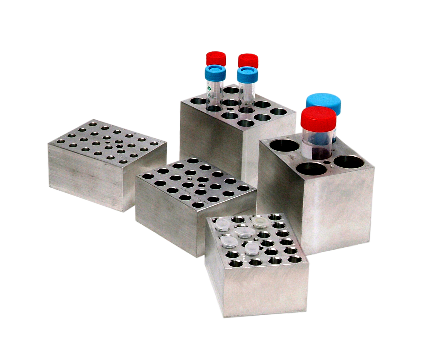 12 x 15-16mm ALUMINUM BLOCK FOR DRY BATHS