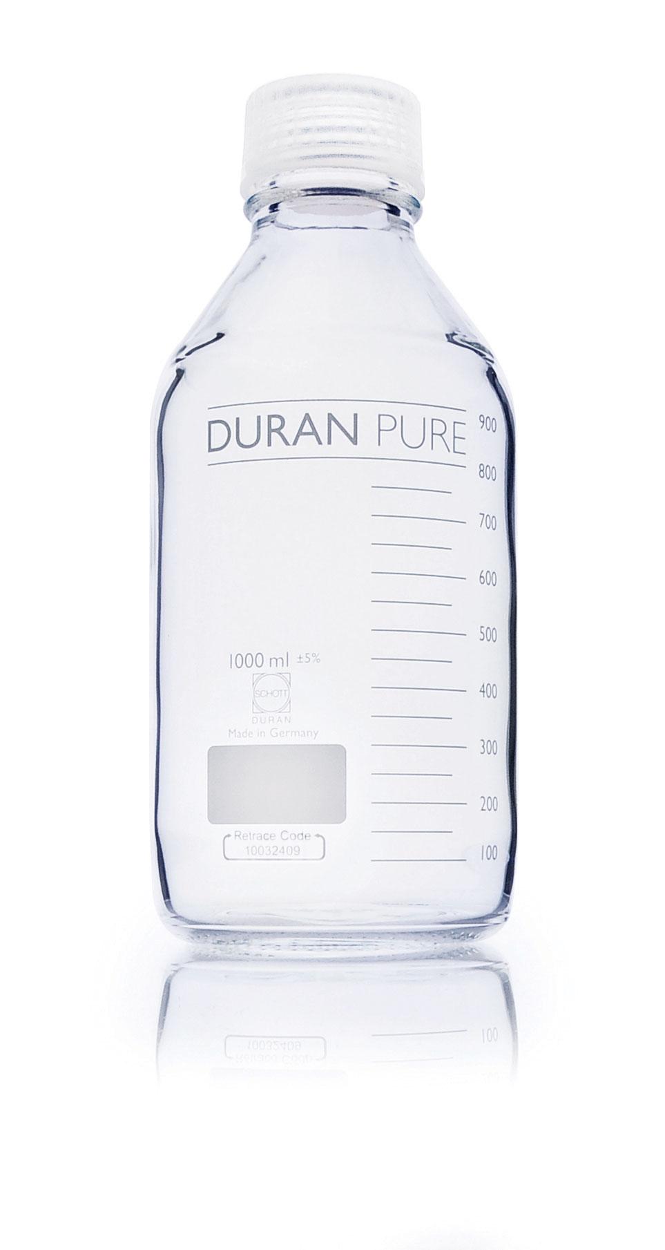 DURAN PURE BOROSILLICATE GLASS BOTTLES : The LabMart, Highest