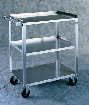 3-SHELVED UTILITY CART 500LBS CAPACITY