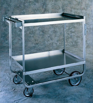 2-SHELVED UTILITY CART 700LBS CAPACITY