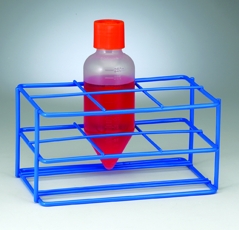 CENTRIFUGE BOTTLE RACK 6 PLACES 250ML/60MM DIA