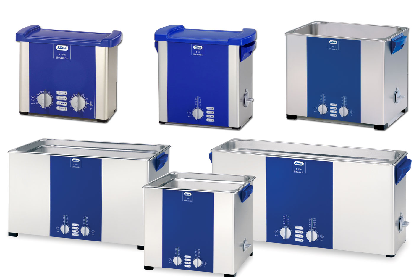 S300H Ultrasonic Unit w/ heat Cap 28L 7.5 gl