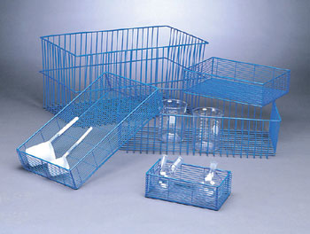 WIRE MESH BASKET 2""