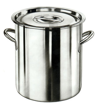 STAINLESS STEEL STORAGE CONTAINER 20 QUART