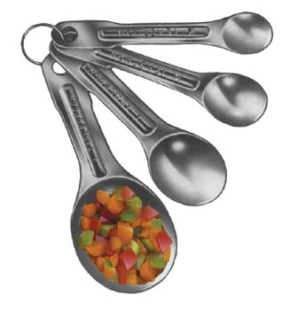 SS MEASURING SPOON SET