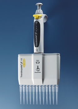 TWELVE CHANNEL PIPETTE 5-50 VOL.