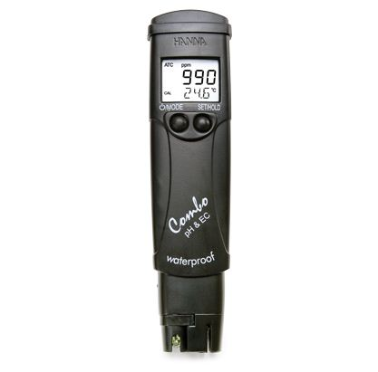 COMBO TESTER HIGH RANGE pH/TDS/EC/TEMP