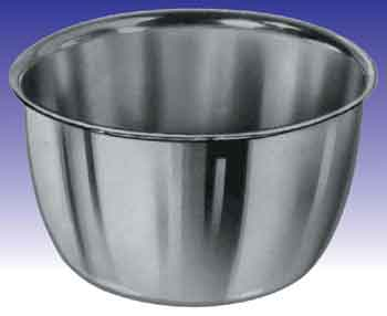 IODINE/OIL CUP STAINLESS STEEL 14oz