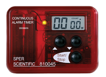 CONTINUOUS ALARM TIMER